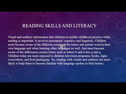 Middle childhood language development & Literacy