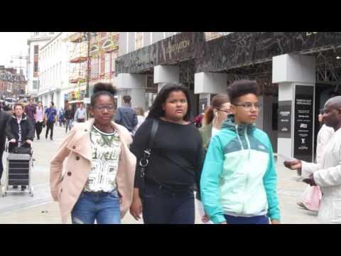 HCC - Elder Addo -  LEEDS SCHOOL GIRLS ASK STREET PREACHER QUESTIONS ABOUT HOMOSEXUALS/GAYS