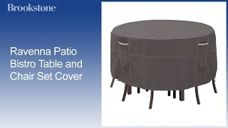 Overview: Patio Bistro Table And Chair Set Cover
