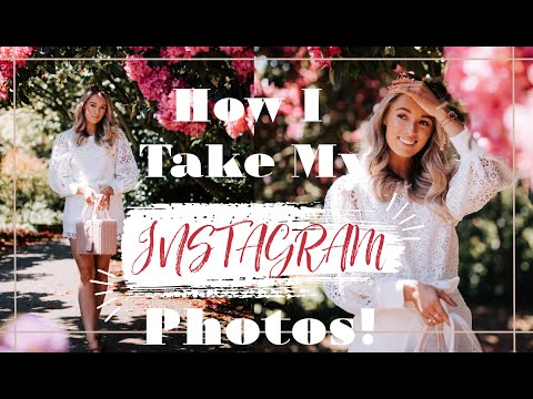 HOW & WHERE I SHOOT MY INSTAGRAM PHOTOS //  Fashion Mumblr
