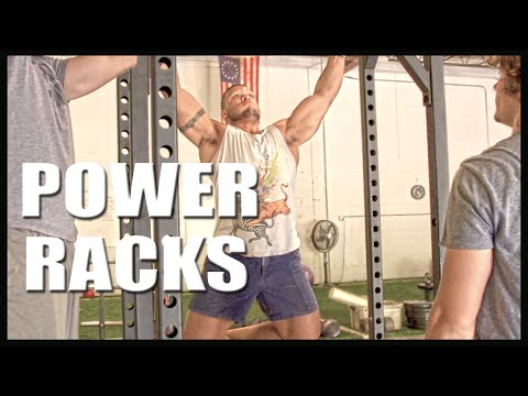 New RUGGED Power Racks