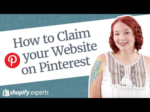Claim your Website on Pinterest for your Shopify Store thumbnail