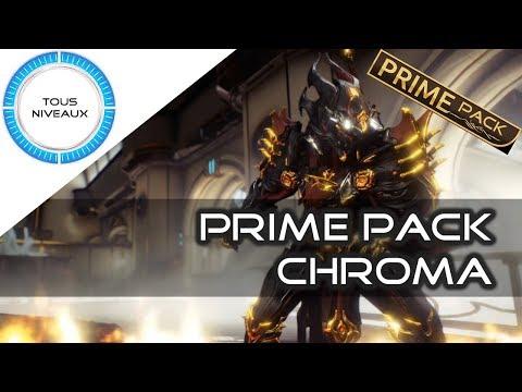[Prime Pack] : Chroma prime - Warframe [FR]