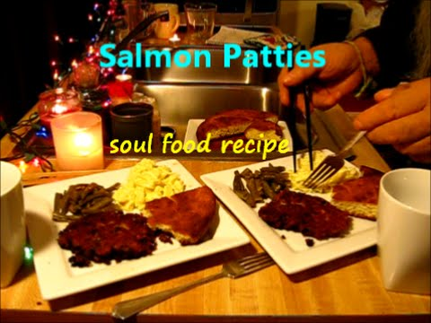 Salmon patties dinner for two soul food cooking easy recipe salmon patties dinner for two soul food cooking easy recipe youtube forumfinder Gallery