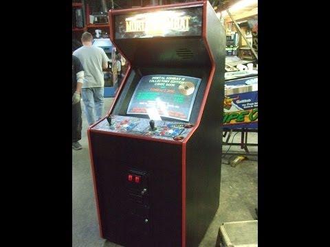 #440 Bally Midway MORTAL KOMBAT II Arcade Video Game - TNT Amusements
