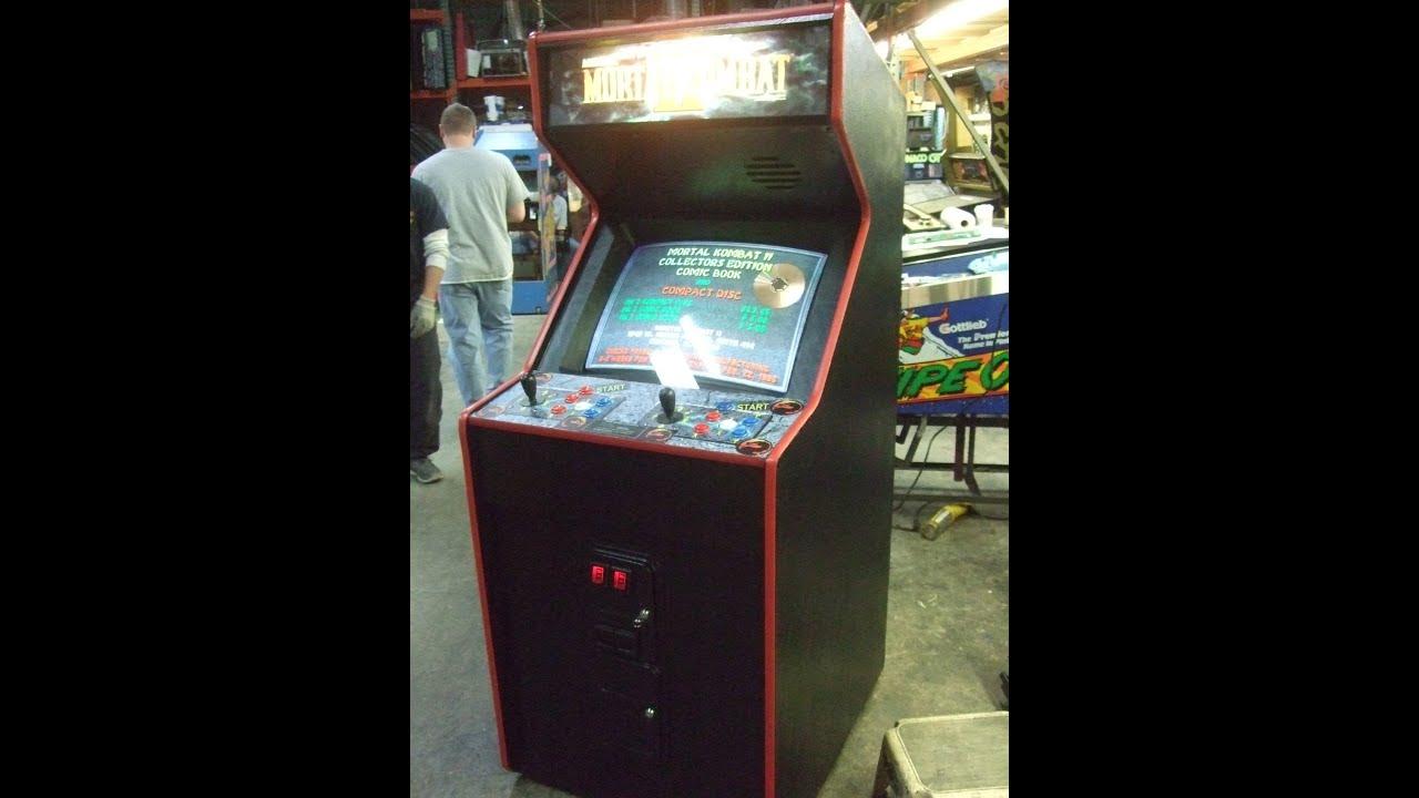 mortal kombat 3 arcade machine
