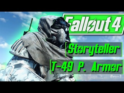 Fallout 4 | Top Mod of Week: T-49 - Armor of the Storyteller