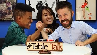 Manly Driving Advice on #TableTalk!