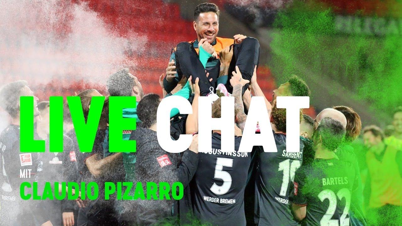 LEGENDEN LIVE TALK mit Claudio Pizarro | Stellt eure Fragen an den G.O.A.T!