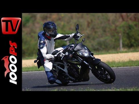 Honda CB 650F Test 2016 | Pannoniaring