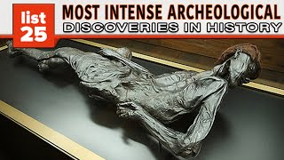 25 Most INTENSE Archaeological Discoveries In Human History thumbnail