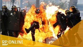 1.Mai: Gewalt in Berlin, Hamburg und Paris