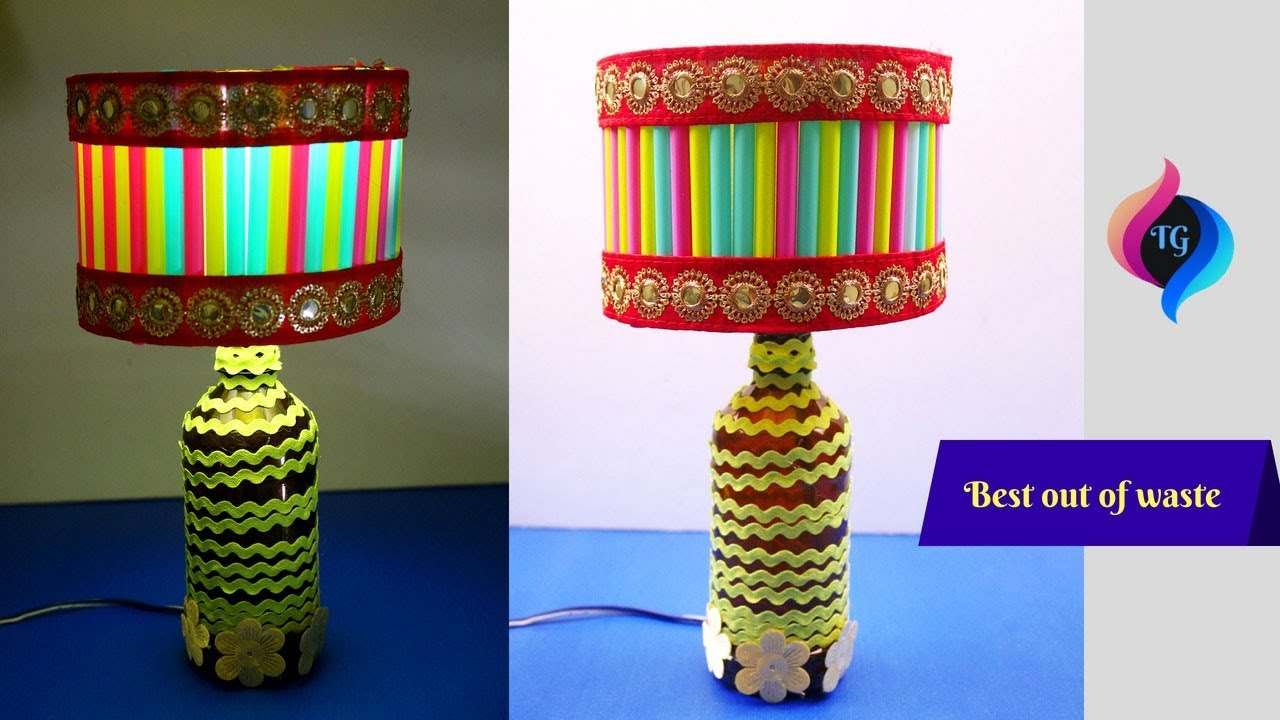Diy Lamp How To Make A Lampshade From Recycled Materials Best