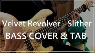 #022 Velvet Revolver - Slither (Bass cover u0026 Tab)