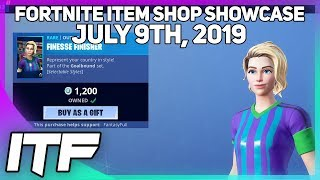 Fortnite Item Shop SOCCER SKINS ARE BACK! [July 9th, 2019] (Fortnite Battle Royale)