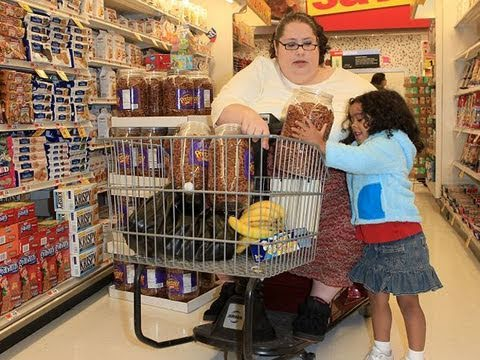 Obese Woman Paid To Eat - YouTube