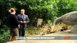 L.L. Junior zokogott édesapja sírjánál... - tv2.hu/aktiv