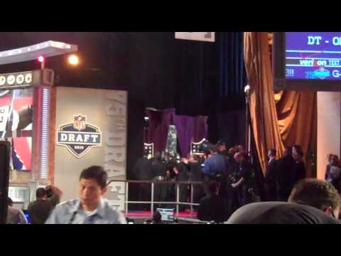 Bucs Pick Gerald McCoy Hugs It Out With The Commish At 2010 Draft
