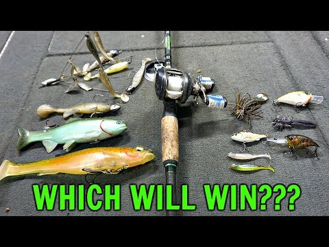 BIG Baits vs. SMALL Baits CHALLENGE!! (Surprising Result)