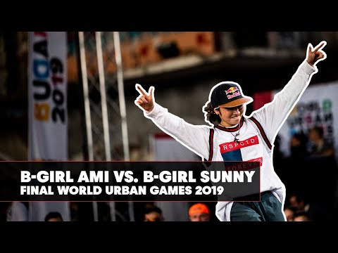 B-Girl Ami vs. B-Girl Sunny | World Urban Games 2019 B-Girl Final