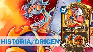 Leeroy Jenkins [Historia de la Carta] [Hearthstone] [Warcraft] [LORE]
