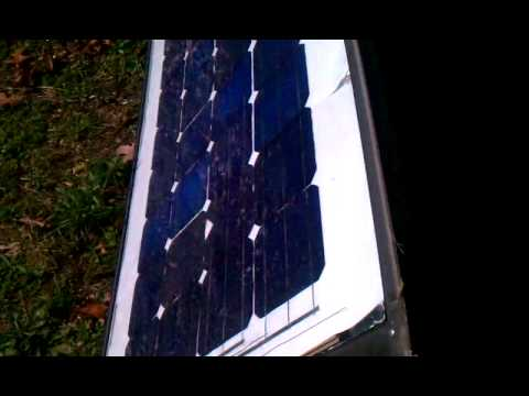 Homemade Solar Panel Repurposed Sliding Glass Door Diy