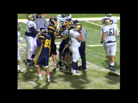 10 31 14 Pope John vs Vernon Football