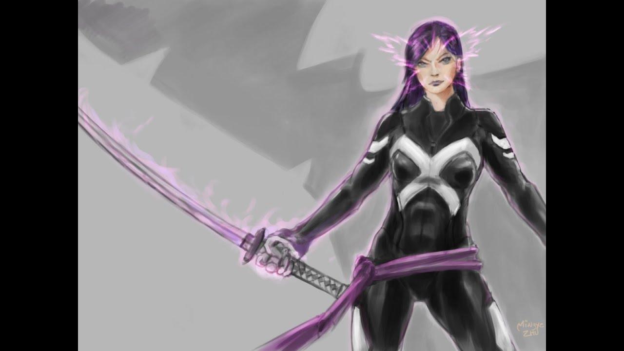 Marvel Super Hero Squad Online X-Force Psylocke(Remaxed ... Marvel Now Psylocke