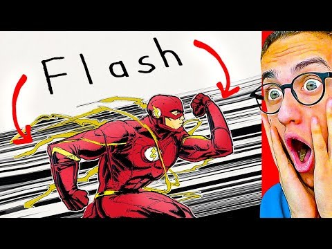 Reacting To DRAWING NAMES INTO SUPERHEROES!