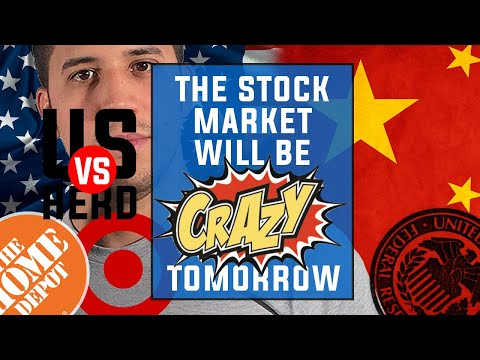The Stock Market Will Be Crazy Tomorrow - Options Trading Watchlist