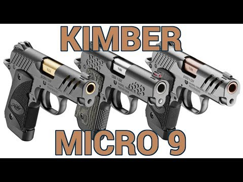 New Kimber Micro 9 Pistols at SHOT Show 2019 - YouTube