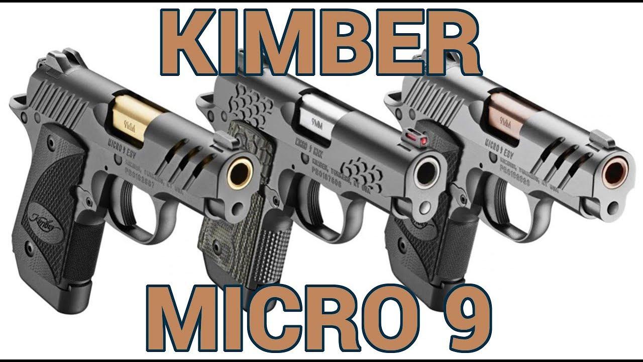 New Kimber Micro 9 Pistols at SHOT Show 2019
