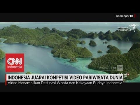Selamat, Indonesia Juara Kompetisi Video Pariwisata Dunia