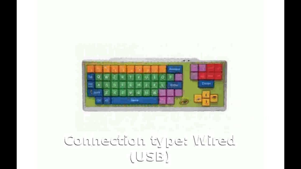 Sakar Crayola Keyboard Specs Specification