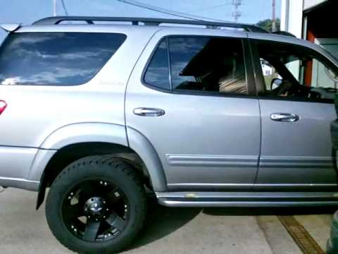 Hometown Tire 04 Toyota Sequoia Lifted 20in Xd Rockstars
