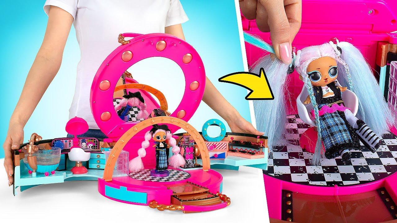 Download L.O.L. Surprise! Salone Di Bellezza + 50 Sorprese E Un'Esclusiva Bambola Alla Moda