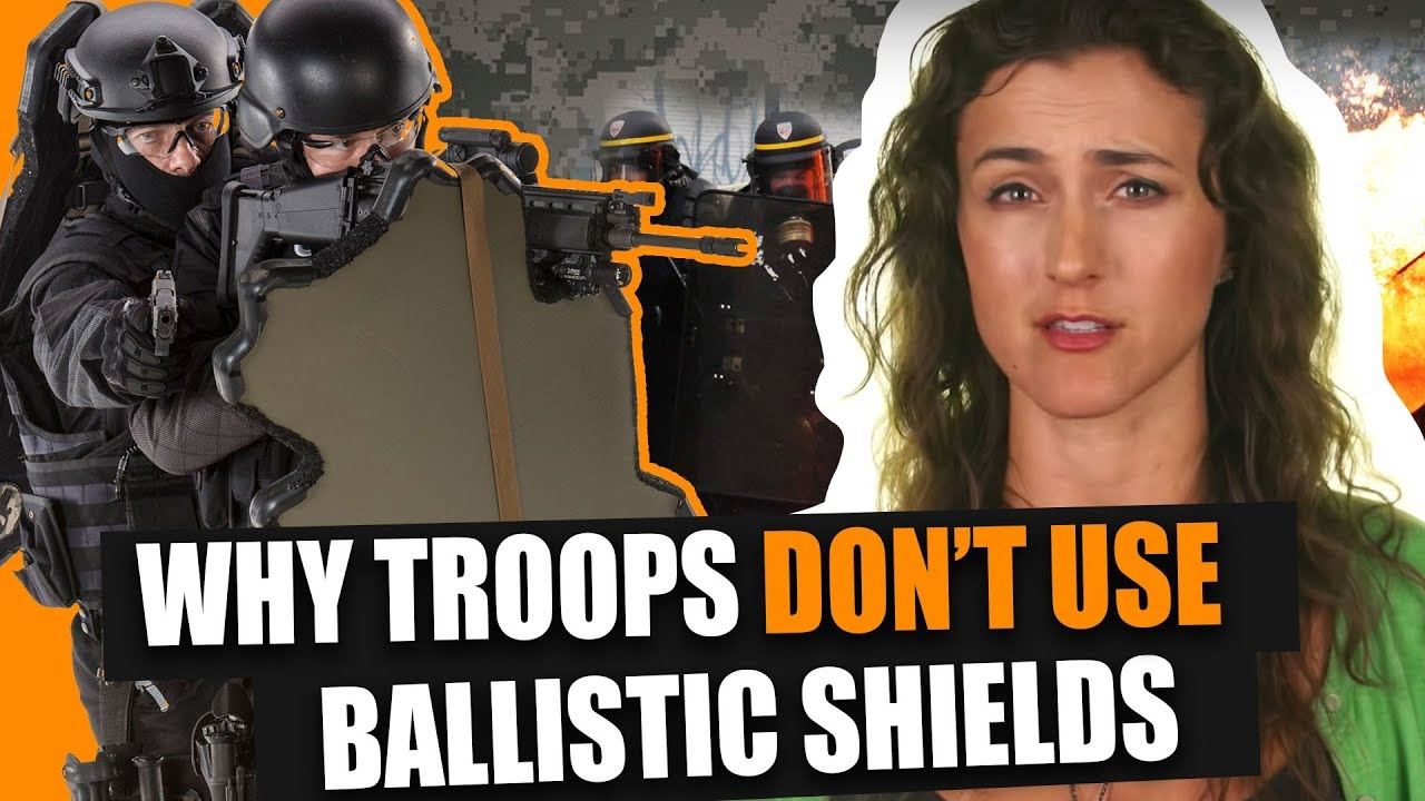troops don't use ballistic shields