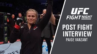 """Fight Night Brooklyn: Paige VanZant - """"I"""