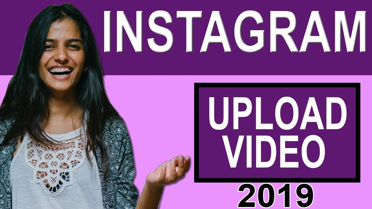 how to upload instagram video