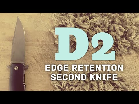 Edge Retention Test: D2 on Viper Keeper (Poor result - two runs)