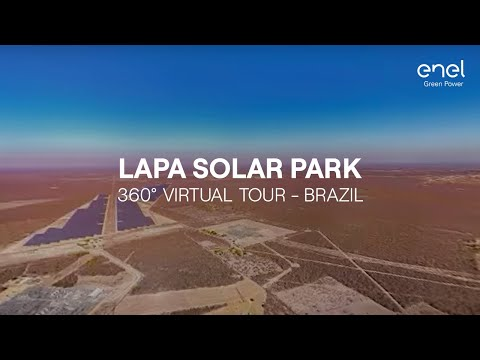 Enel Green Power in Brazil: Lapa solar park 360° virtual tour