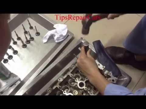 Hướng dẫn sửa chữa ô tô chuyên nghiệp,Xử lý xe ăn dầu động cơ, thay bạc dẫn hướng xupap