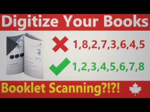 Booklet Scan Cleanup Using NAPS2