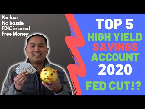 Most Profitable High Yield Savings Account For 2020 - Hassle Free Savings Accounts