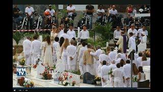 Enterrement de Johnny Hallyday :  de rares images des obsèques ont fuité