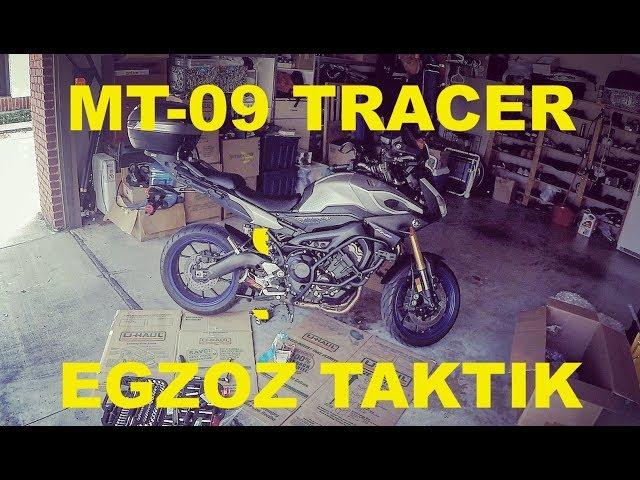 Yamaha MT-09 Tracer'a Egzoz Taktık: Hotbodies MGP Carbon Full Exhaust
