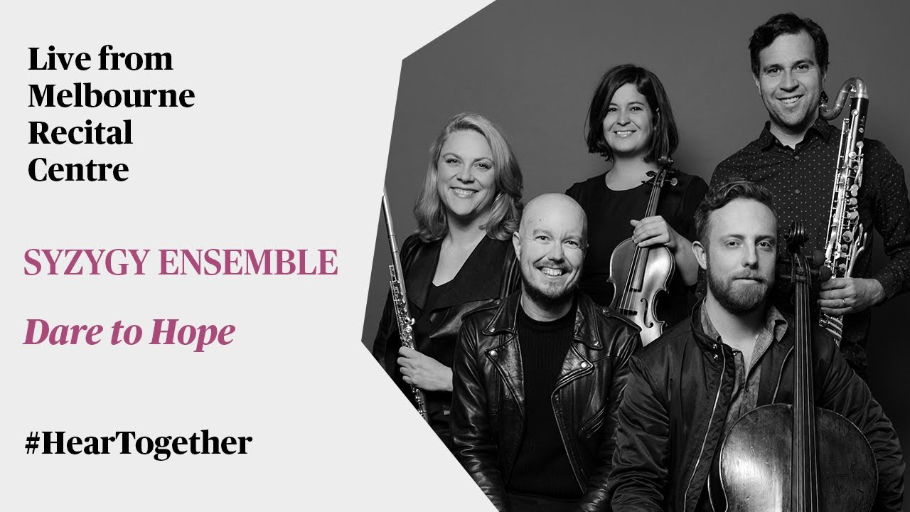 Syzygy Ensemble performs 'Dare to Hope'