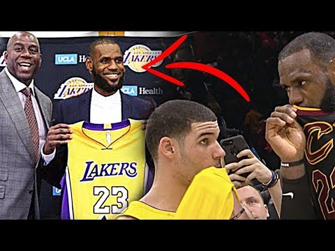 Download Youtube: Twitter reacts to LeBron's secret postgame message to Lonzo Ball