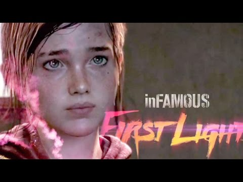 ELLIE, WHAT ARE YOU DOING IN HERE?! - Infamous: First Light DLC - Gameplay - Part 3