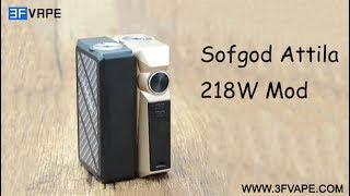 Sofgod Attila 218W Box Mod